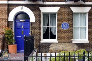 Blue plaque property in London